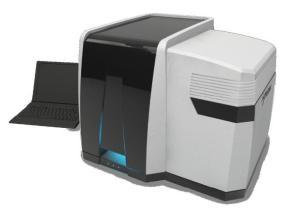 高速,高空间分辨率显微共焦拉曼成像光谱仪