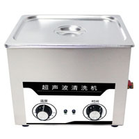ZQ-20H 3L 上海子期台式机械旋钮加热超声波清洗器