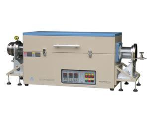 1200℃雙管三溫區管式爐OTF-1200X-III-D5-4