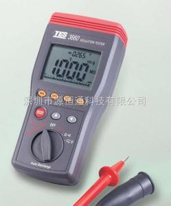 台湾泰仕TES-3660自动换档绝缘测试器