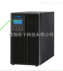 雷迪司GR6K机架式塔式UPS电源6KVA 4800W延时10分钟LCD可扩容时间