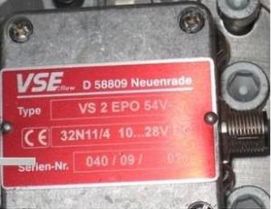 原装进口VSE流量计VS1EP012V-12A11/3现货