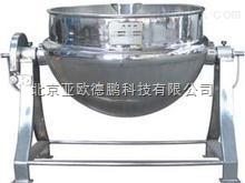 DP-400L 全钢可倾电加热带搅拌刮壁夹层锅/可倾式夹层锅