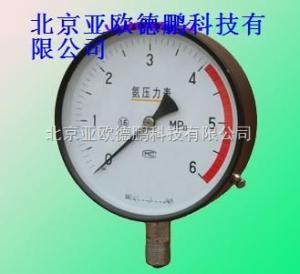 DP-YA-100 氨用压力表/氨用压力表/压力表
