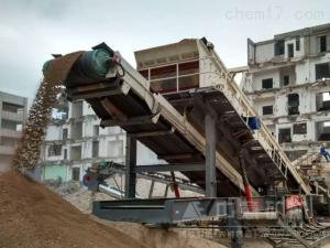 河南开封建筑垃圾资源化再生利用现场案例