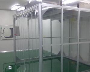 聊城潔凈廠房十萬級潔凈棚設計安裝