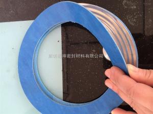 DN150 高压反应釜四氟包覆金属波纹板垫片