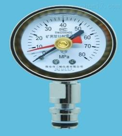 礦用耐震雙針壓力表BZY-60
