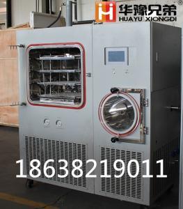 HYFD-50F 压盖原位冷冻干燥机(硅油加热)真空冻干机