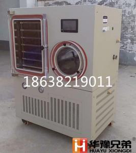 LGJ-100F 硅油型原位冷冻干燥机|LGJ-100F雪蛤冻干机