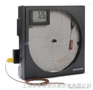 美國迪克森KT803聲光報警圓盤記錄儀,數顯走紙溫度計