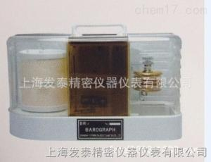 BR12 BR12气压记录仪,上海品牌有纸曲线大气压力计,周记日记型气压仪 车间温度记录仪
