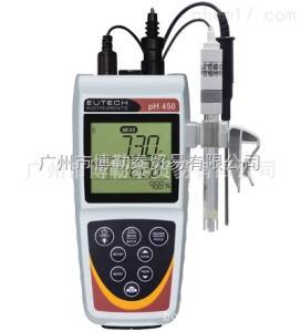 pH450 EUTECH便携式pH/ORP/离子/温度测量仪pH450