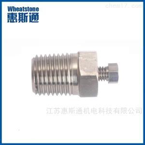 惠斯通卡套式螺丝接头  不锈钢外丝接头 WH-U-M4-SL1螺钉式接头