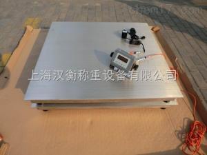 SCS 熹兴3吨食品专用不锈钢地磅厂家价格/5吨平台磅