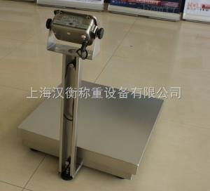60kg全不銹鋼電子臺秤廠家現貨/100公斤防生銹臺秤保養