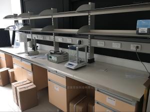钢木实验台_实验边台_实验室家具厂家_广州