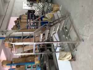 304不锈钢梯 304不锈钢梯|商场登高平梯深圳利欣工业设备