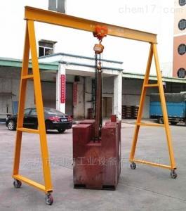 重型起重龙门架 东莞工厂定制规格,型号重型起重龙门架利欣