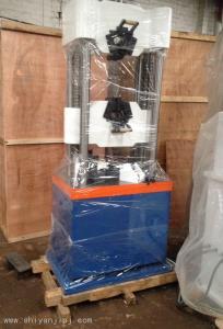 WES-100KN 厂家供应四立柱双丝杠液压万能材料试验机李15373176973