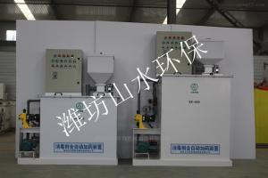 江西萍乡消毒粉剂自动溶解投加装置原理