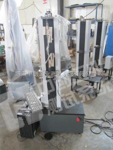 天津5KN聚酯线拉伸破断延伸率检测设备、辽宁2000N浸浆线抗拉力强度试验仪器