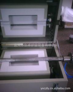 GSLQ-1000 常规气氛管式炉、对开式管式电炉